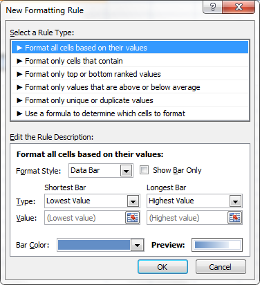 How To Add Progress Bars In Excel