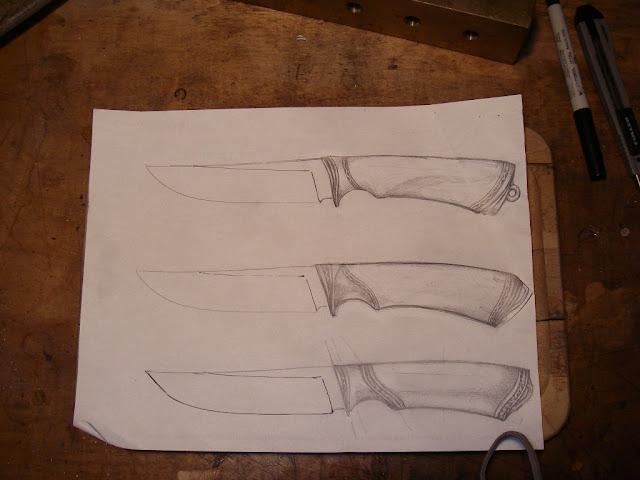 Гарда для ножа своими руками 58