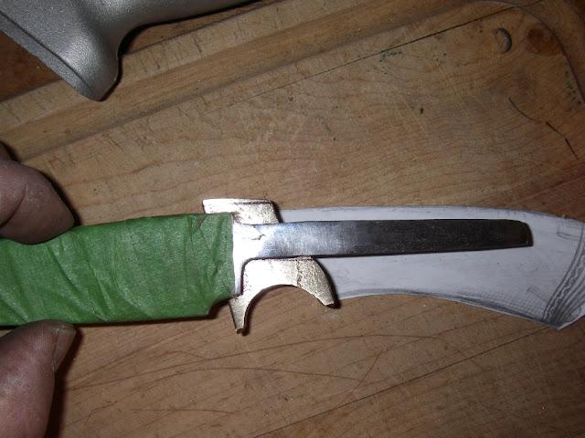 Гарда для ножа своими руками из чего