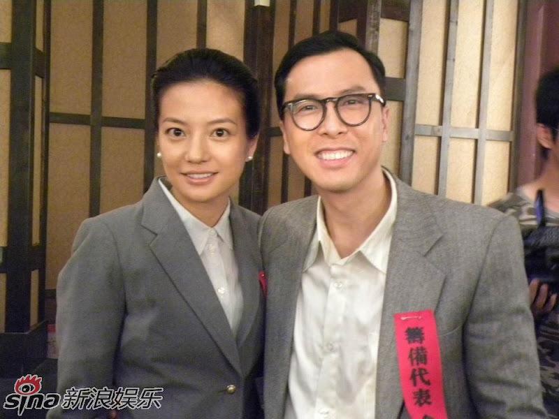 """28.05.2009: """"Đại Nghiệp Kiến Quốc"""" : Triệu Vy tái hợp với Chân Tử Đan"""