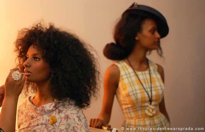 Fashion:District Spring/Summer 2010 Behind the Scenes