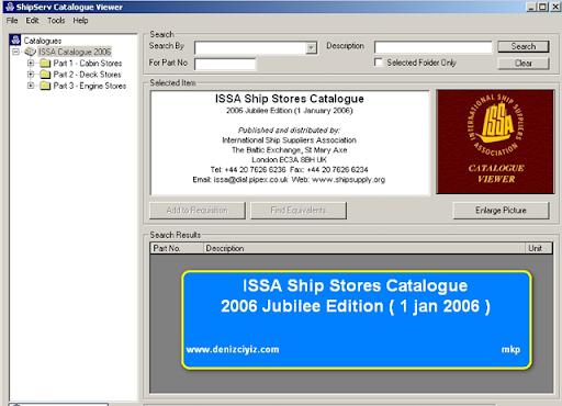 Hai cuốn catalog IMPA và ISSA ISSA1