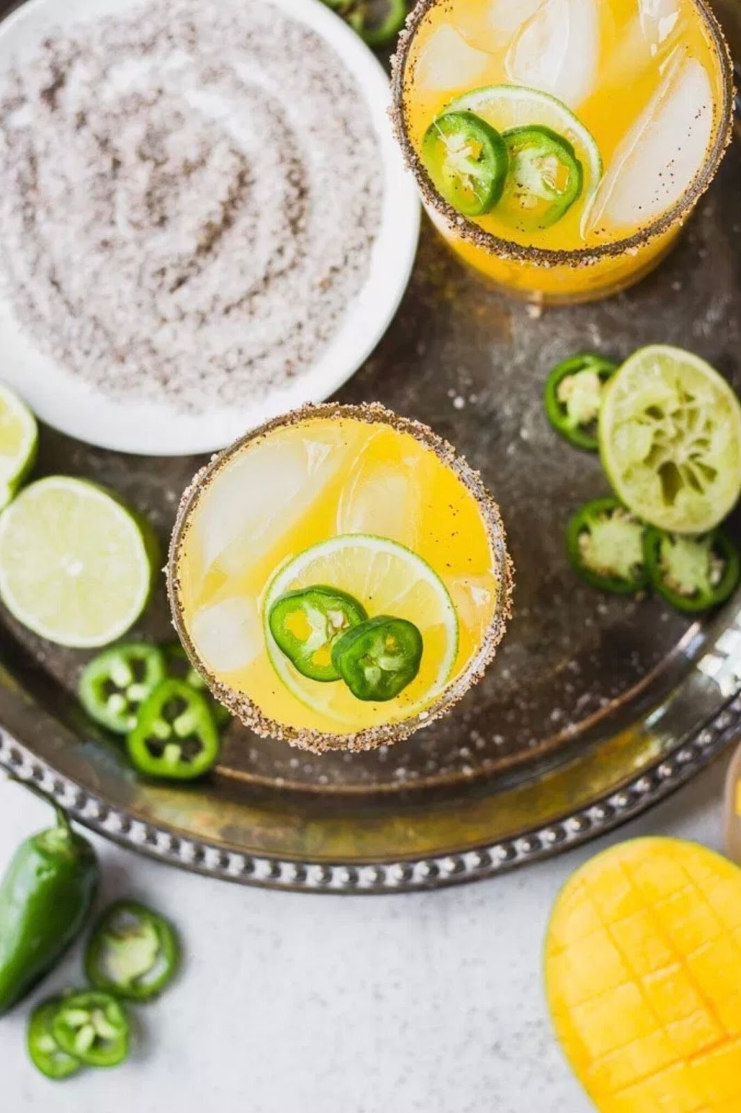jalapeno margarita recipe perfect for summertime drinks in Atlanta