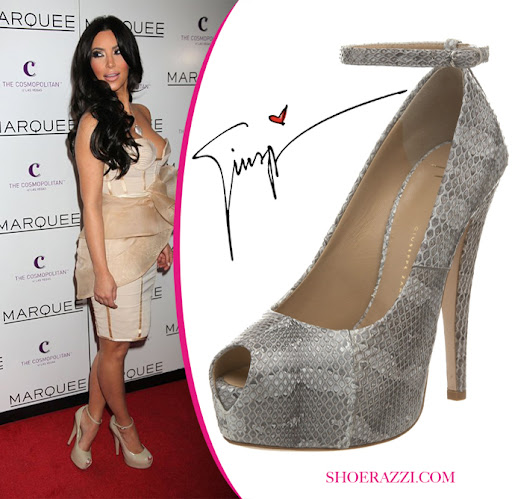 Kim Kardashian Celebrity Shoe