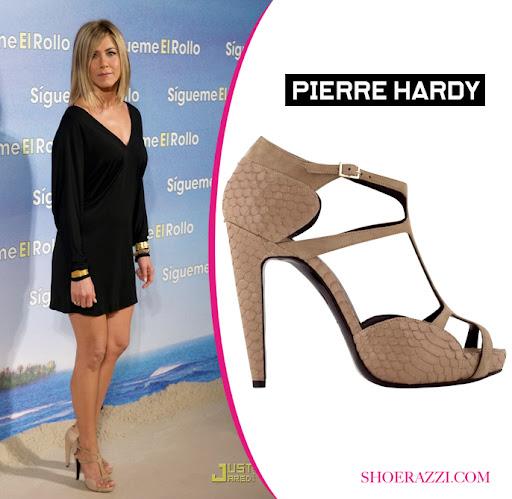 Celebrity shoes, Jennifer aniston