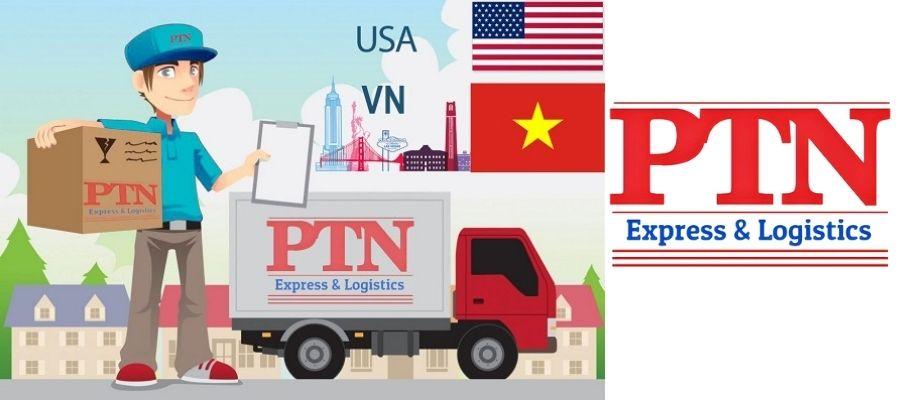 Nhập hàng Mỹ về Việt Nam thông qua PTN Express