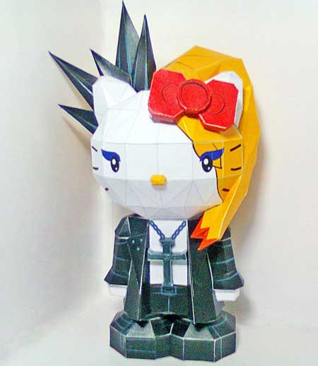 Yoshikitty Papercraft