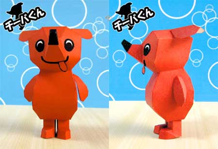 Cheeba kun Papercraft