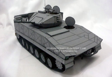 Bionix Infantry Fighting Vehicle Papercraft