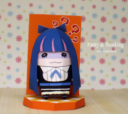 Stocking Anarchy Papercraft