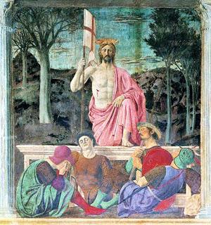 Piero della Francesca (1420-1492), Resurrección de Cristo