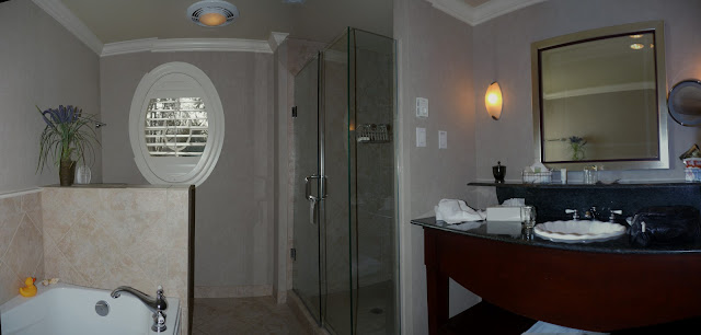 Bathroom at Harbour house