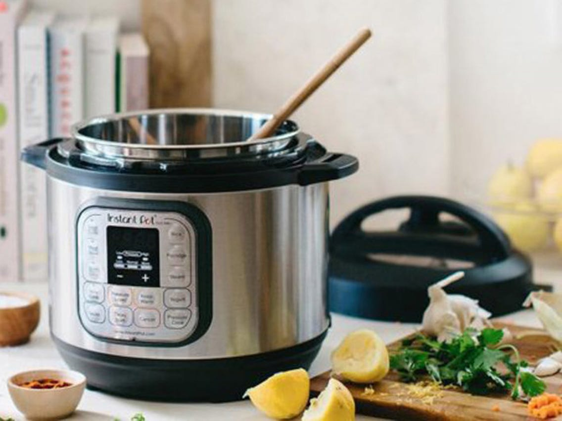 A pressure cooker can replace multiple appliances and cooking utensils for different meals. Source:Business Insider