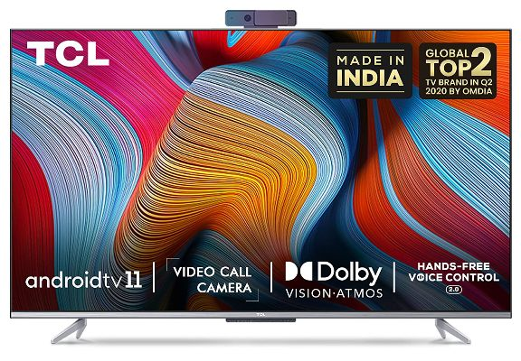 TCL 65P725 4K Ultra HD Smart Certified Android LED TV