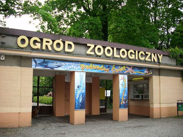Wejście do Starego Zoo - widok obecny