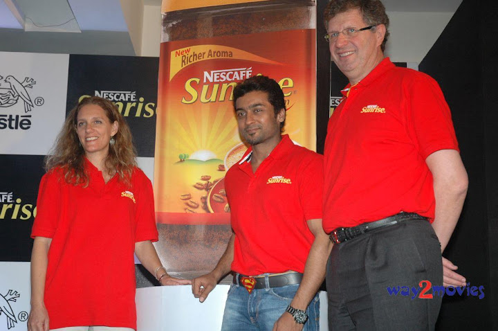 Surya At Nescafe Sunrise Press Meet