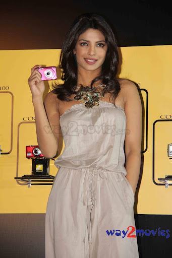 Priyanka At Nikon Coolpix Camera Launch.