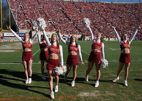Virginia Tech Cheerleaders(16pics)  #Safe For Work:Safe For Work