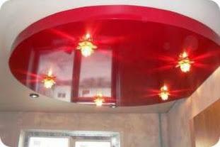 Как оформить потолок