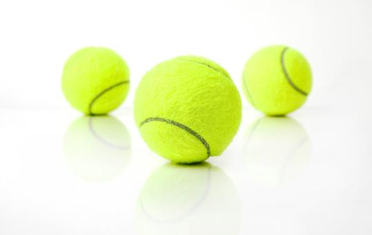 Tennis Balls Bouncing Quick tip: tennis balls