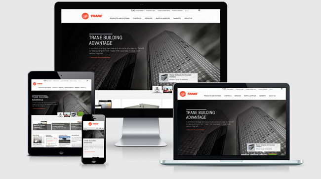 Top 12 Design Firms January - Top Design Firms - Responsive Design - Websites Depot Inc - Trane.png