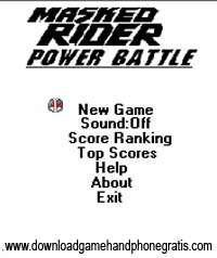 Masked Rider - Power Battle