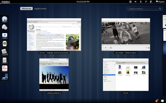 GNOME 3.0 Screenshot