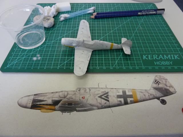 Olá! Gostaria de contribuir com o forum. Segue Bf 109G-6 ... P1010160