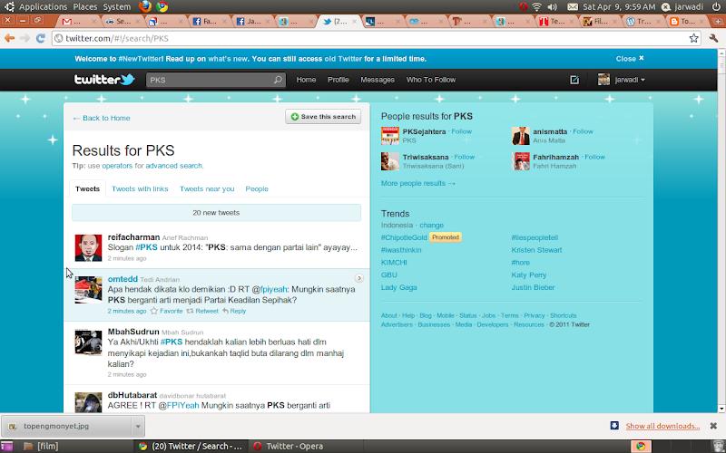 PKS on Twitter