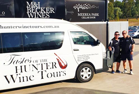 Tastes of the Hunter Wine Tours