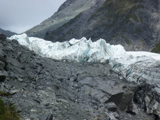 To give you some idea of scale I can advise that this Glacier is huge.