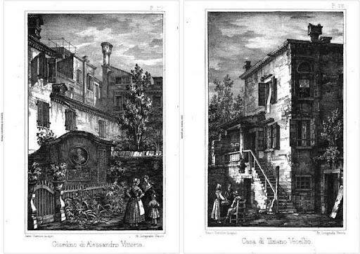 Case di Pittori a Venezia:Vittoria e Tiziano