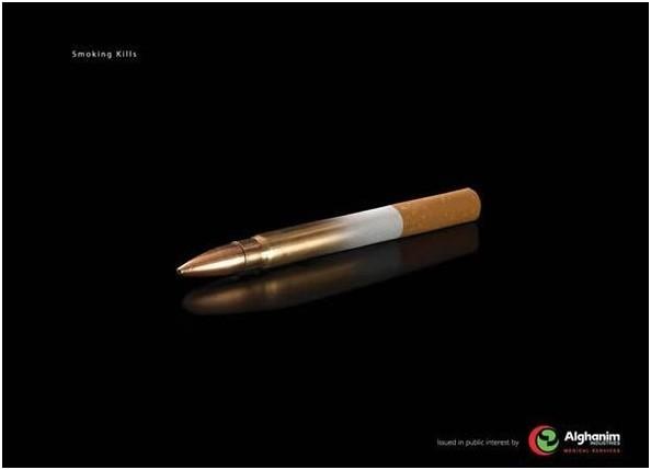 Cigarette bullet