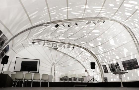 Musical pavilion