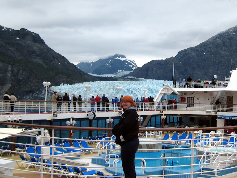 Glacier Bay from the deck