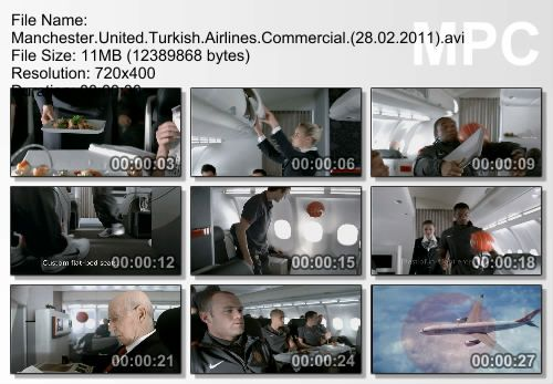 Manchester United Turkish Airlines Commercial