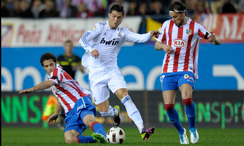 Ronaldo, Atletico Madrid - Real Madrid