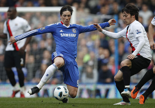 Torres and Silva, Chelsea - Manchester City