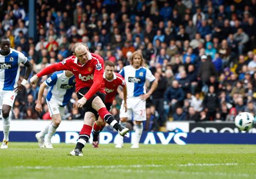 Wayne Rooney, Blackburn - Manchester United