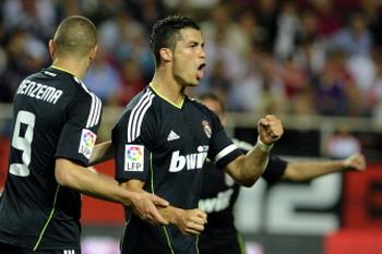 Ronaldo, Sevilla -  Real Madrid
