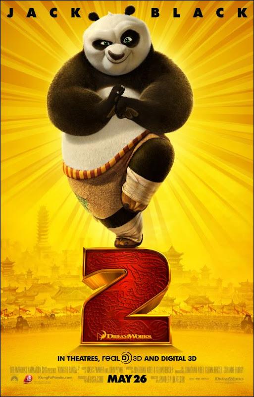 Kung Fu Panda 2 Jack Black Po