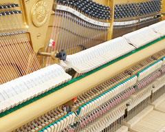 Bộ máy đàn Piano Yamaha U1H