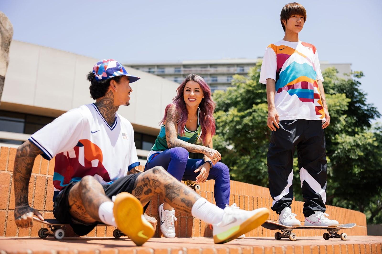 Skateboarding Olimpiadas