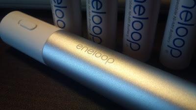 eneloopスティックブースターの充電量