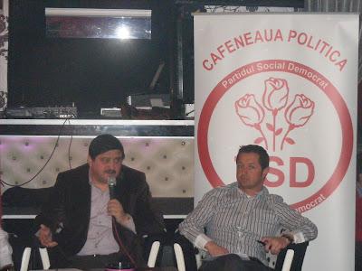 """""""Cafenea Politică"""" la PSD Braşov"""