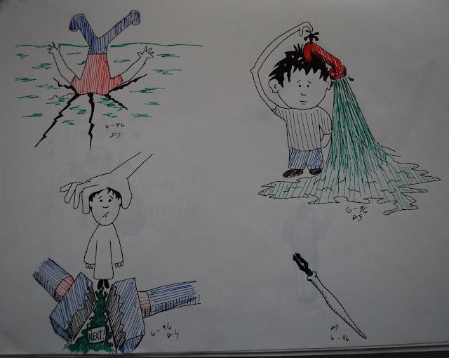 Brain drain sketches