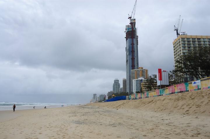 ゴールドコーストサーファーズパラダイスビーチの写真