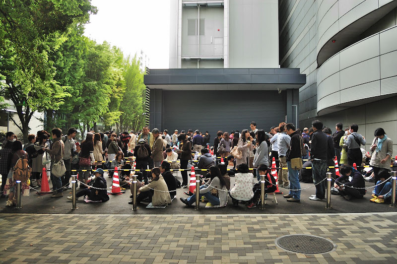 名古屋市科学館次の溜まり場の写真