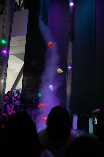 名古屋市科学館・風船飛ばしの写真