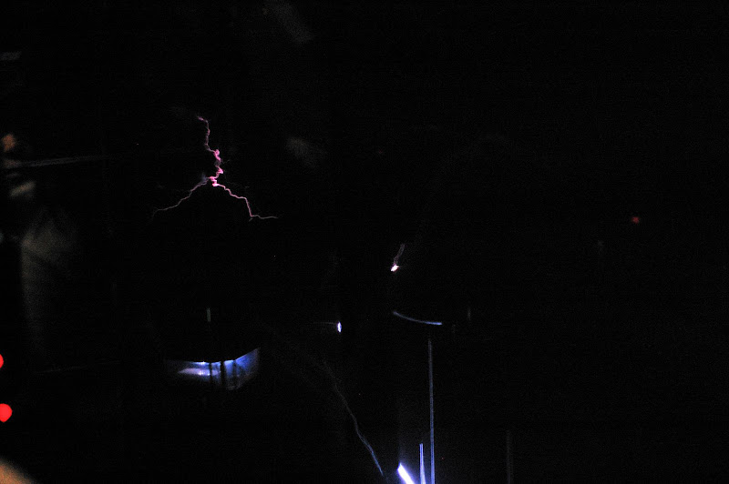 名古屋市科学館・放電した瞬間の写真